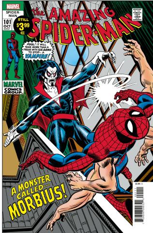 The Amazing Spider-Man #101 (Facsimile Edition)