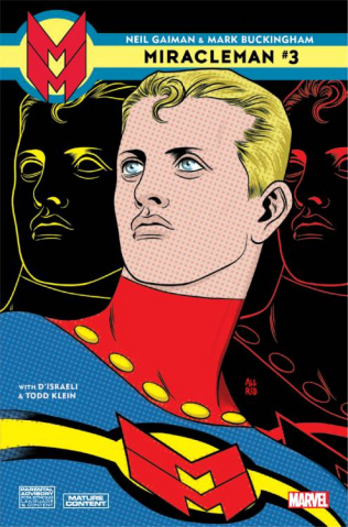 Miracleman by Gaiman and Buckingham #3 (Allred Cover)