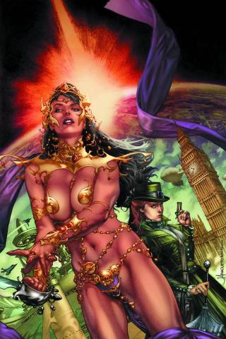 Swords of Sorrow: Dejah Thoris & Irene Adler #1 (Virgin Cover)