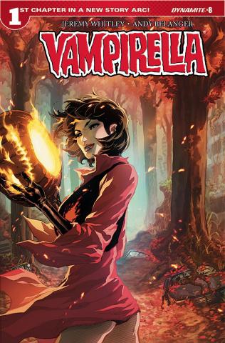 Vampirella #8 (Tan Cover)