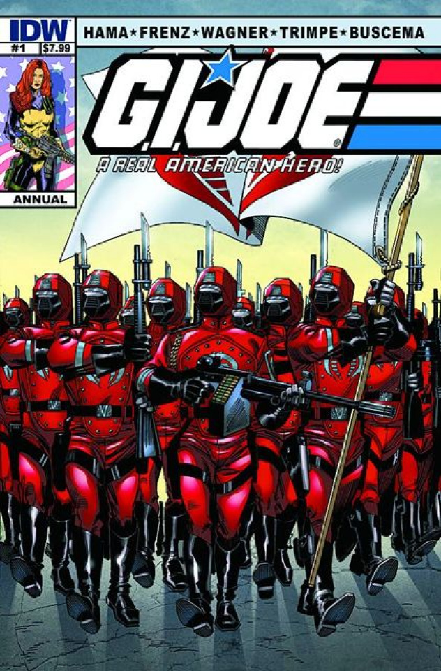 G.I. Joe: A Real American Hero Annual #1