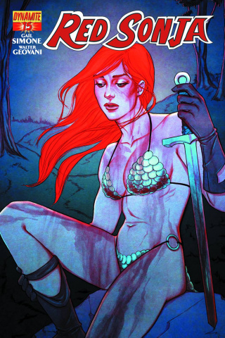 Red Sonja #15 (Frison Cover)