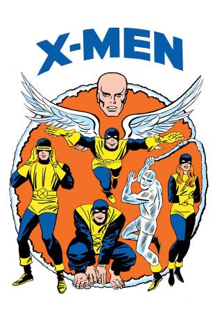X-Men: Blue #13 (Kirby 1965 T-Shirt Cover0