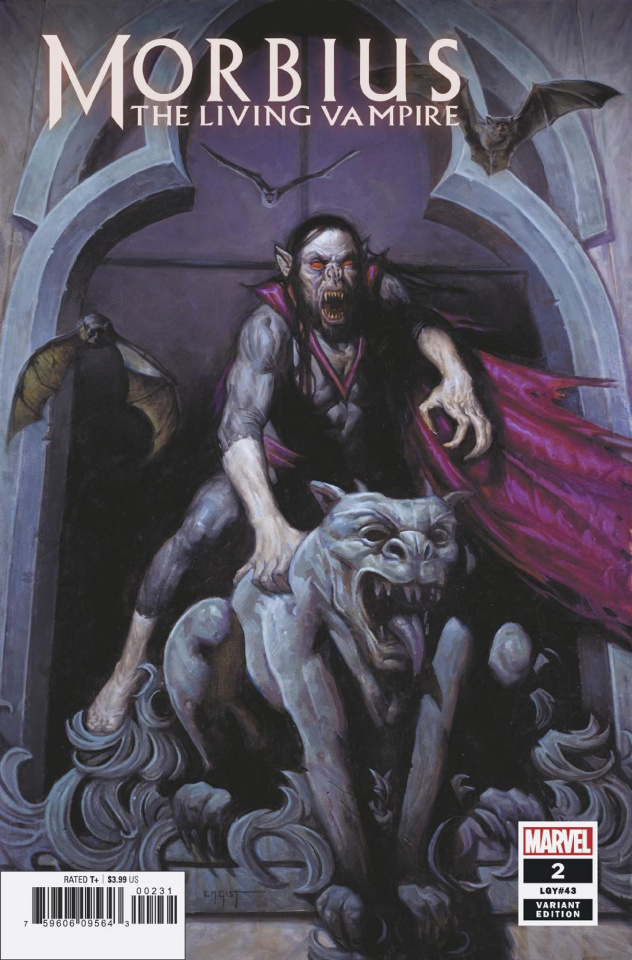 Morbius #2 (Gist Cover)