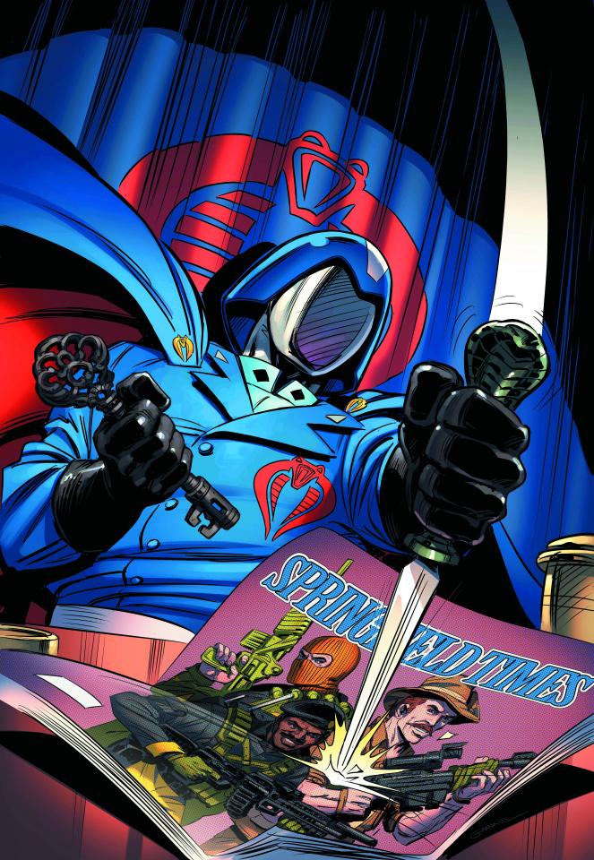G.I. Joe vs. Cobra Special #8: Welcome to Springfield Island
