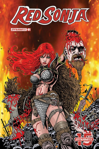 Red Sonja #1 (5 Copy Haeser Cover)