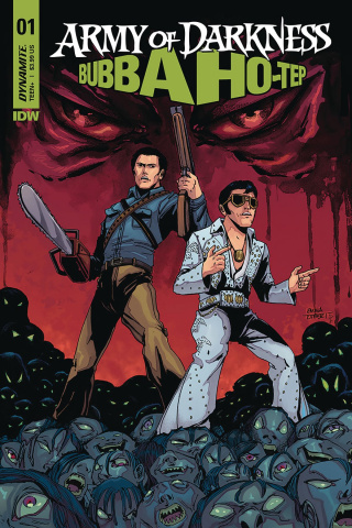 Army of Darkness / Bubba Ho-Tep #1 (Kubert Cover)