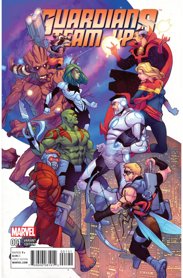 Guardians Team-Up #1 (Ferry Cover)