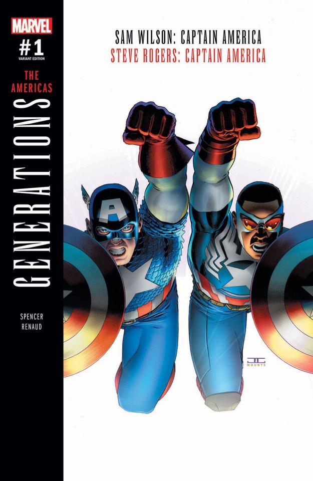Generations: Captain Americas #1 (Cassady Cover)