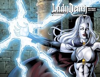 Lady Death: Apocalypse #4 (Wrap Cover)