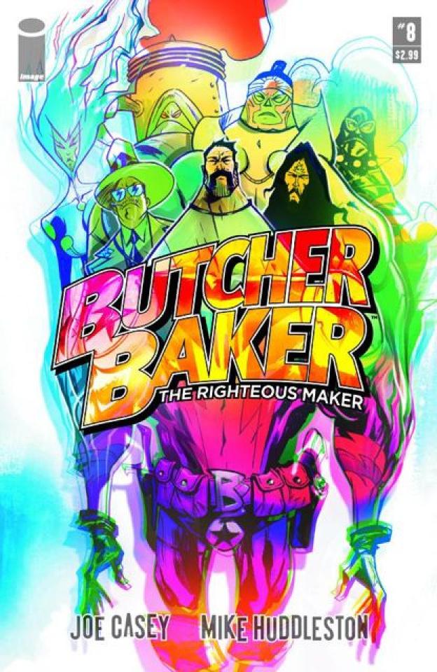 Butcher Baker: The Righteous Maker #8