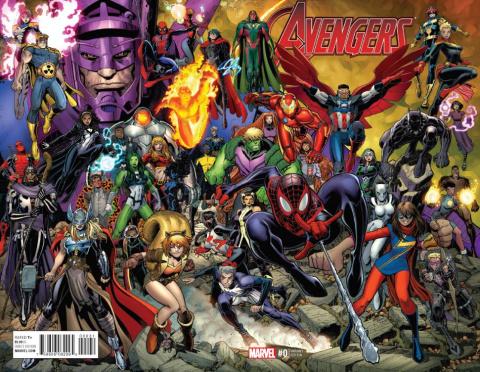 Avengers #0 (Art Adams Wraparound Cover)