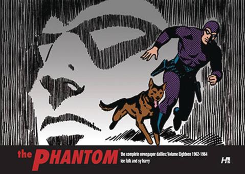 The Phantom: The Complete Newspaper Dailies Vol. 18: 1962-1964