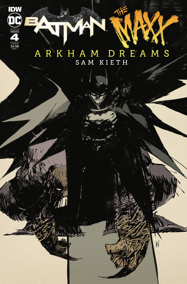 Batman / The Maxx: Arkham Dreams #4 (10 Copy Incv Wood Cover)