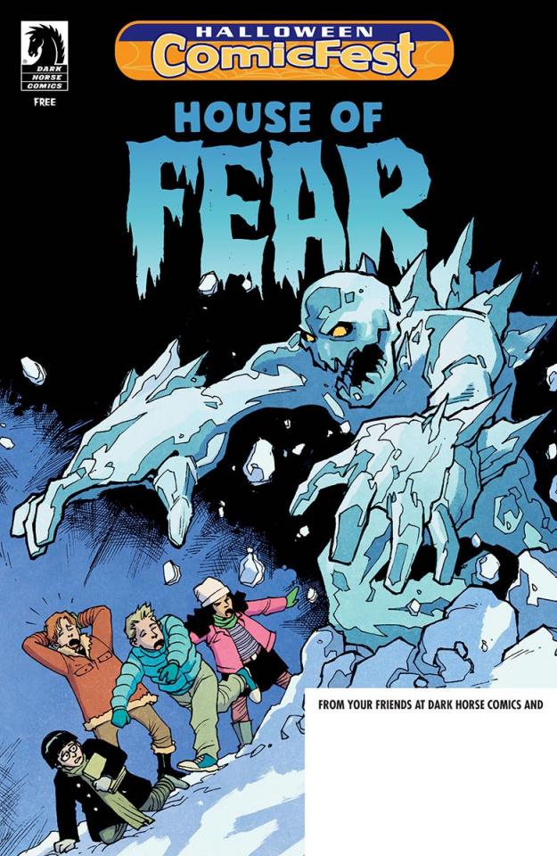 House of Fear: Attack of the Killer Snowmen (Halloween Comic Fest)
