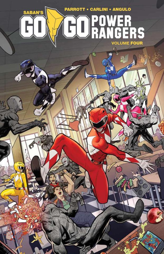 Go, Go, Power Rangers! Vol. 4