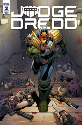 Judge Dredd: Under Siege #2 (Dunbar Cover)
