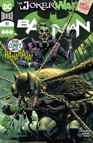 Batman #97 (Guillem March Cover)