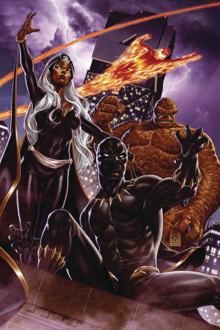 Fantastic Four #1 (Brooks Return of Fantastic Four Cover)