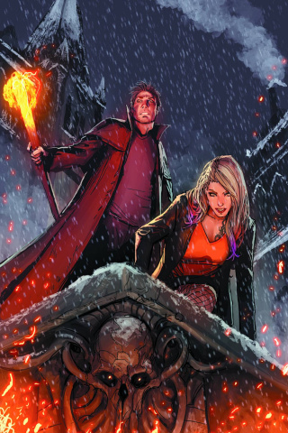 The Dresden Files: Down Town #1 (Sejic Virgin Cover)
