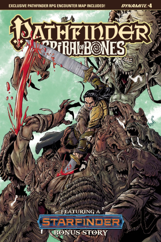 Pathfinder: Spiral of Bones #4 (Federici Cover)