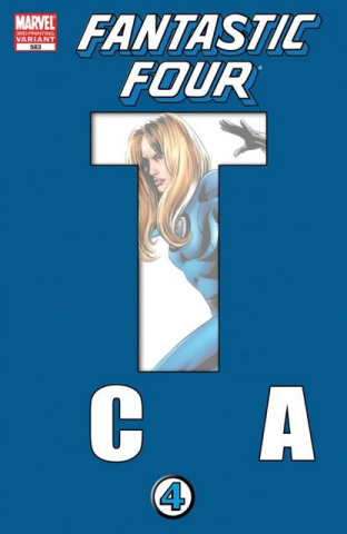 Fantastic Four #583 (3rd Printing Epting Cover)