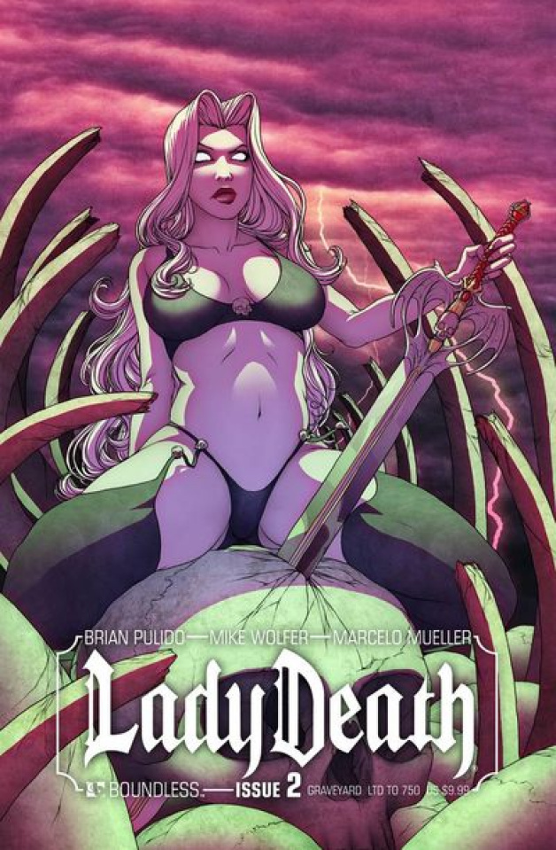 Lady Death #2: Graveyard