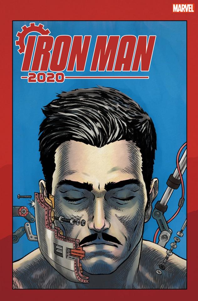 Iron Man 2020 #1 (Superlog Heads Cover)