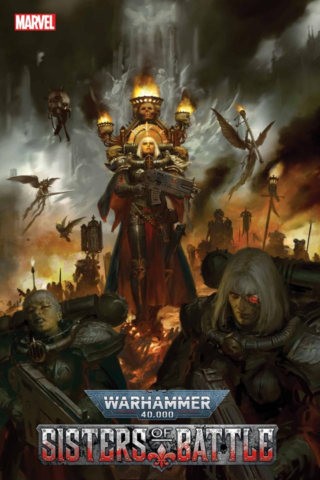 Warhammer 40,000: Sisters of Battle #2 (Games Workshop Cover)