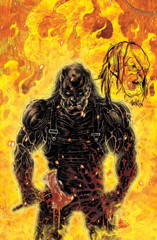 Hatchet: Vengeance #3 (Buz Remarqued Cover)