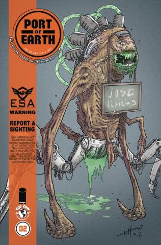 Port of Earth #2 (Timpano Cover)
