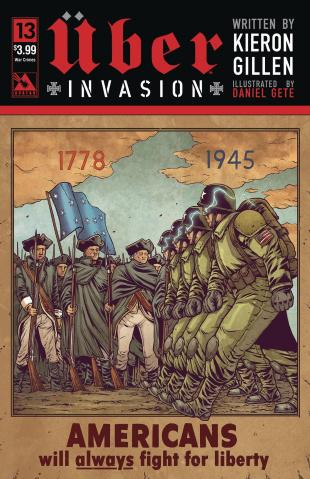 Über: Invasion #13 (Propaganda Poster Cover)