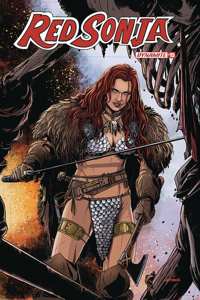 Red Sonja #15 (Laming Cover)