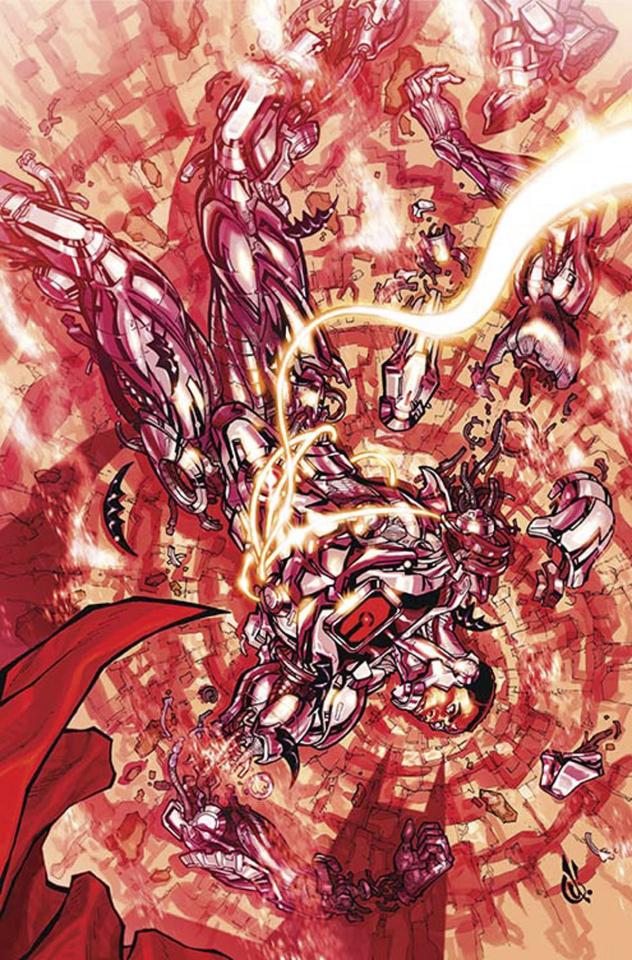 Cyborg #4 (Variant Cover)