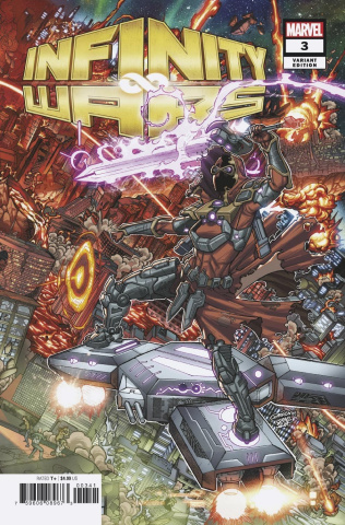 Infinity Wars #3 (Garron Connecting Cover)