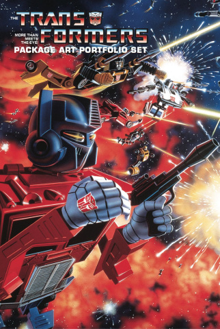 The Transformers: Package Art Portfolio