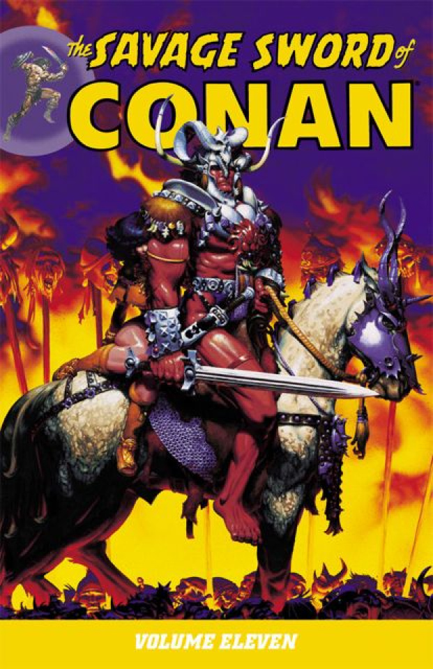 The Savage Sword of Conan Vol. 11