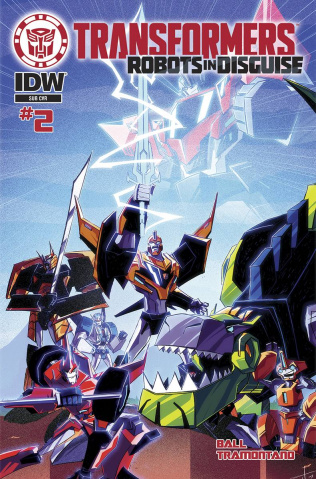 The Transformers: Robots in Disguise Animated #2 (Subscription Cover)
