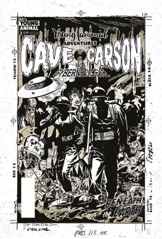 Cave Carson Has a Cybernetic Eye #3 (Variant Cover)