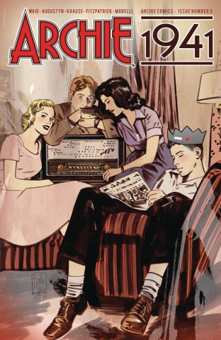 Archie: 1941 #5 (Lotay Cover)