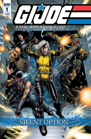 G.I. Joe: A Real American Hero - Silent Option #1 (Diaz Cover)
