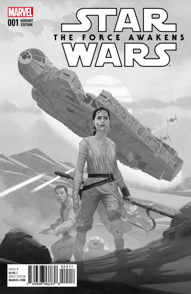 Star Wars: The Force Awakens #1 (Ribic Sketch Cover)