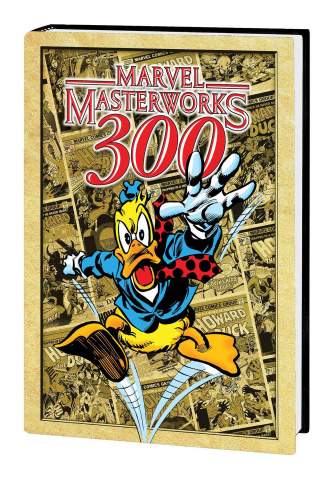 Howard the Duck Vol. 1 (Marvel Masterworks 300 Cover)