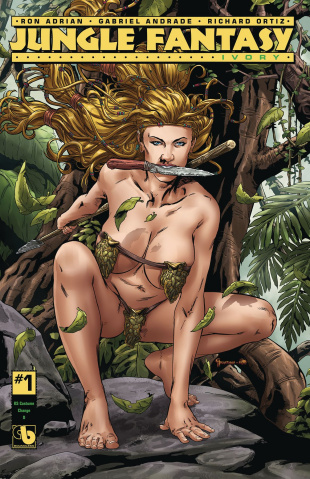 Jungle Fantasy: Ivory #1 (Costume Change Cover)