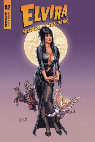 Elvira: Mistress of the Dark #2 (Linsner Cover)