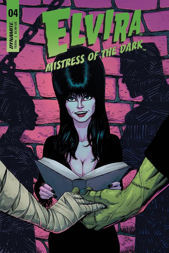 Elvira: Mistress of the Dark #4 (Cermak Cover)
