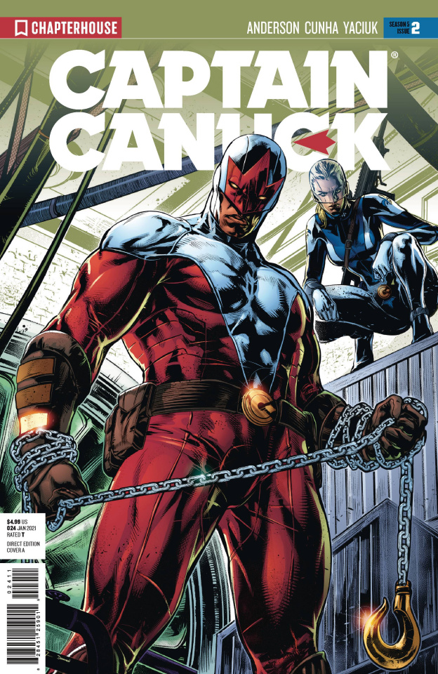 Captain Canuck, Season 5 #2