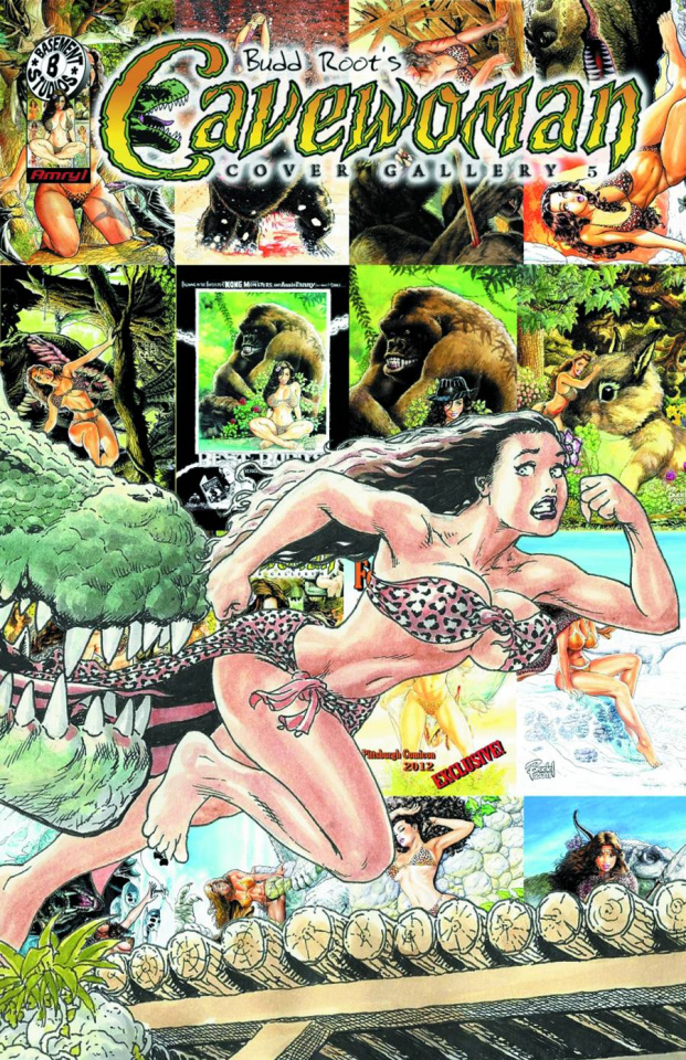 Cavewoman Cover Gallery