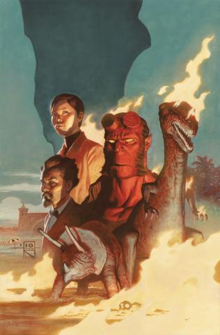 Hellboy and The B.P.R.D. 1955: Burning Season #1
