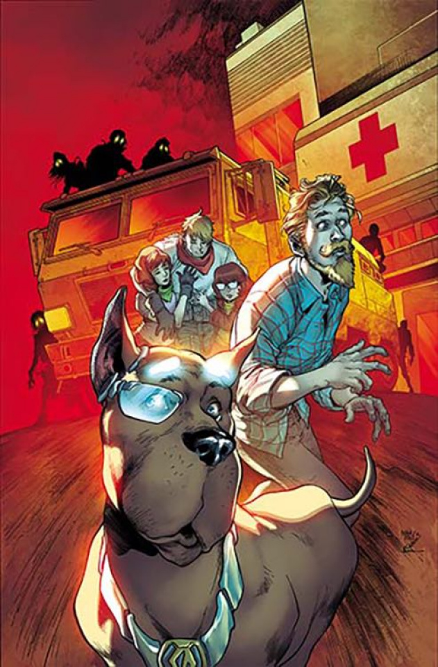 Scooby: Apocalypse #8 (Variant Cover)